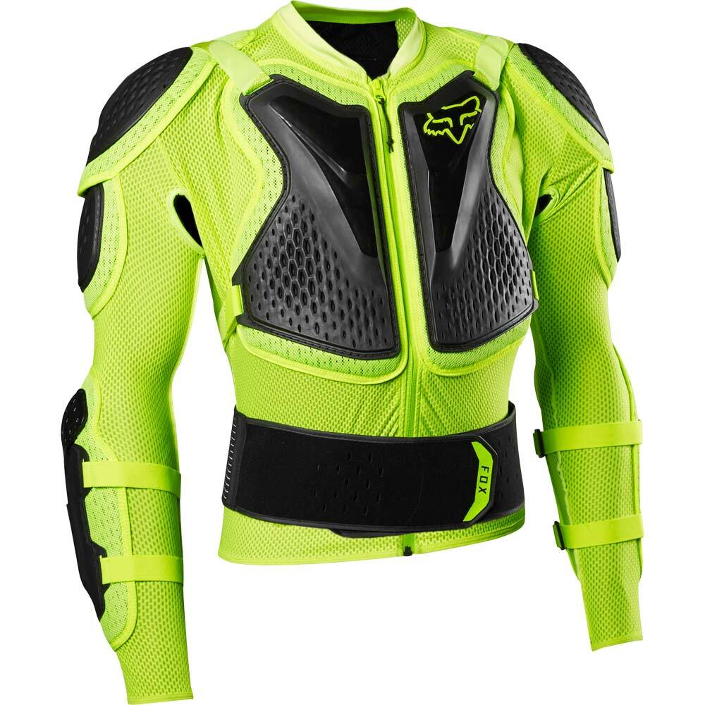 Fox Titan Sport Jacket Fluorescent Yellow жилет защитный, желтый