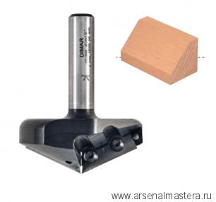 Фреза V-образная со сменным ножом Угол 150 DIMAR 57.6x7.6-29.5x75x12 Z2 1053909