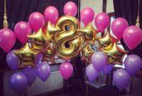 Оформление гелиевыми шарами  дня рождения
