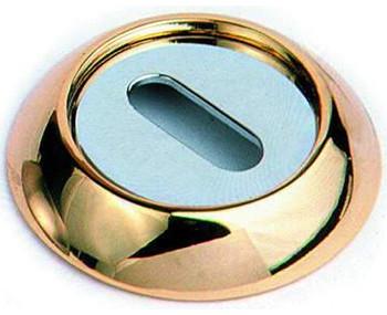Накладка Круглая Под Флажковый Ключ К Ручкам Archie, Золото