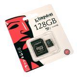 Карта памяти Kingston MicroSD 128Gb Class 10 Ultra Android UHS-I (80 Mb/s) с SD адаптером