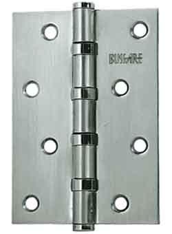 Универсальная Петля Bussare B020-C 100X75X2.5-4Bb-1Sc, Хром Матовый