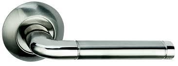 Ручка Дверная Bussare Lindo A-34-10 Chrome/S.Chrome, Хром/Хром Матовый