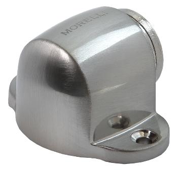 Ограничитель дверной напольный магнитный Morelli MDS-1 SN Матовый никель
