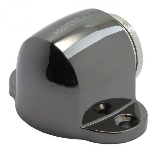 Ограничитель дверной напольный магнитный Morelli MDS-1 BN Цвет-Черный никель