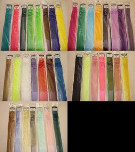 Прядь волос на заколке(искусственные), длина 50см, ширина 3,2см, цвет №20 красный (1уп = 5шт)