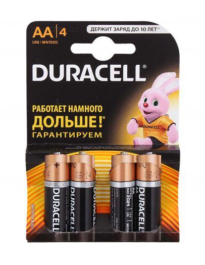 Батарейки DURACELL CN Basic АА 4шт Промо за 1шт