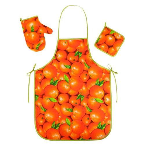 """Набор для кухни """"Ассорти-Апельсины"""" (3 предмета)"""
