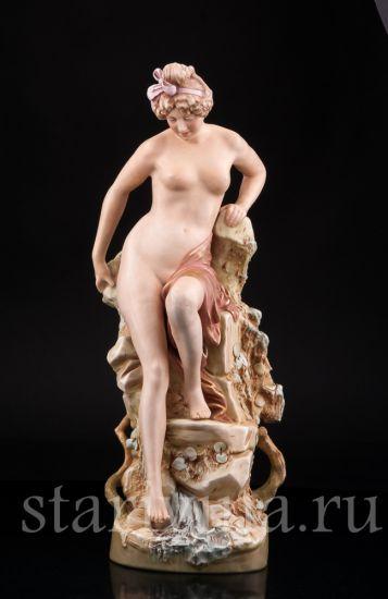 Изображение Купальщица, Royal Dux, Богемия, нач. 20 в.