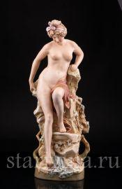 Купальщица, Royal Dux, Богемия, нач. 20 в.