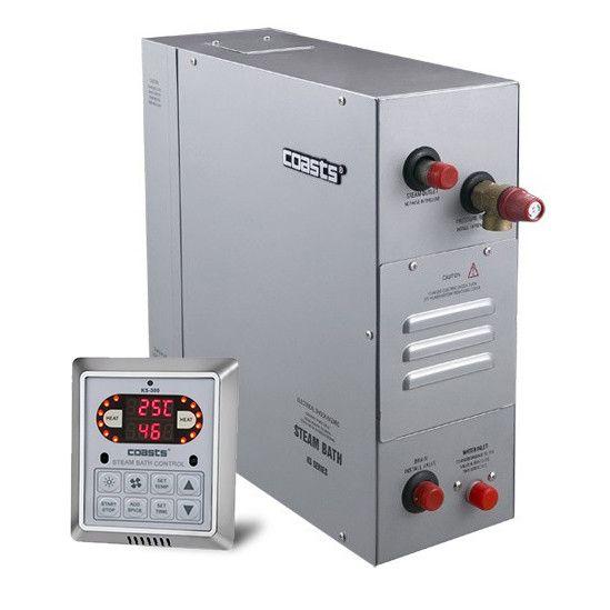 Парогенератор Coasts KSB-150 15 кВт 380v с пультом KS-300