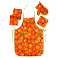 """Набор для кухни """"Ассорти-Апельсины"""" (5 предметов)"""