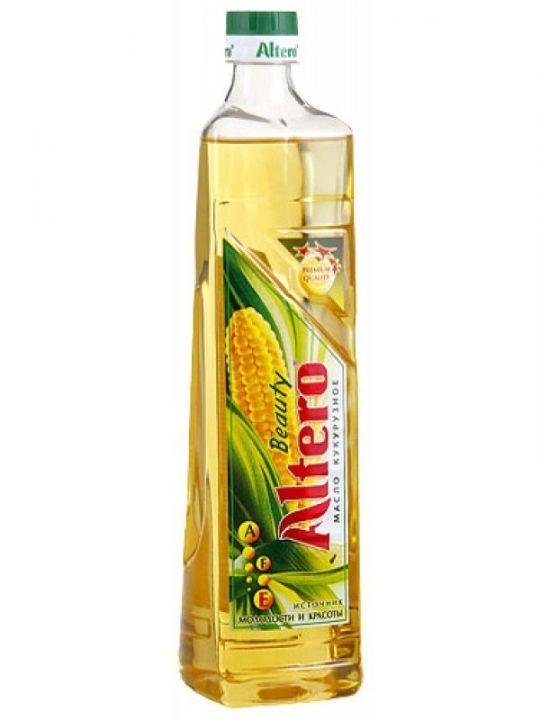 Масло подс. Альтеро Beauty кукурузное раф. 810мл
