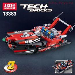 Конструктор JISI BRICKS Моторная лодка 13383 (Аналог LEGO Technic 42089) 186 дет