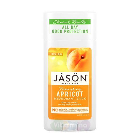 Jason Твердый питательный дезодорант «Абрикос» Apricot Stick Deodorant, 71 г