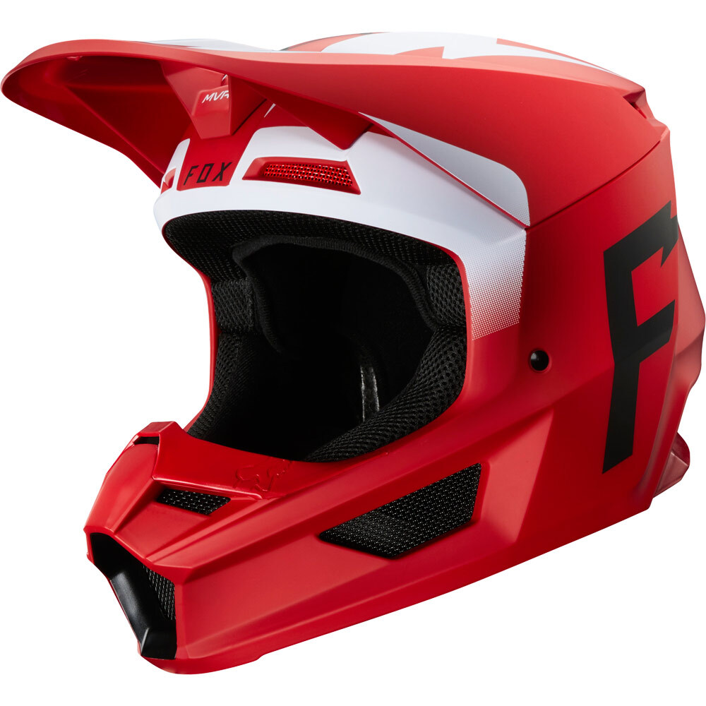 Fox - 2020 V1 Werd Flame Red шлем, красный