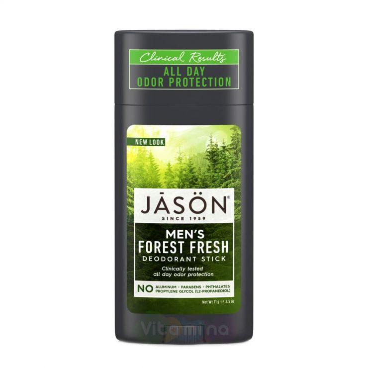 Jason Твердый мужской дезодорант «Лесная свежесть» Stick   Forest  Fresh, 71 г