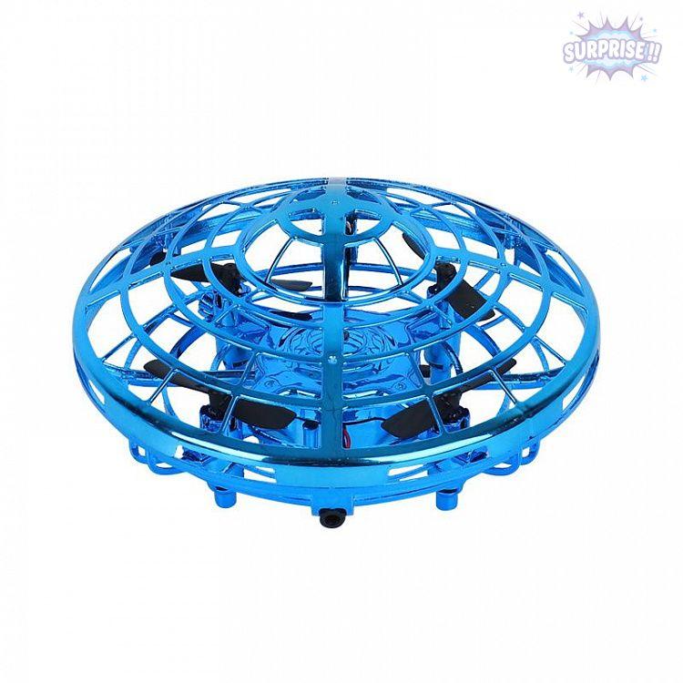 Квадрокоптер нло (UFO) с 3 датчиками