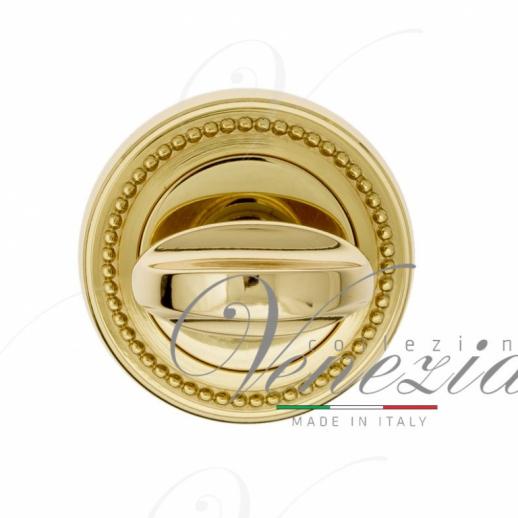 Фиксатор поворотный Venezia WC-2 D3 полированная латунь