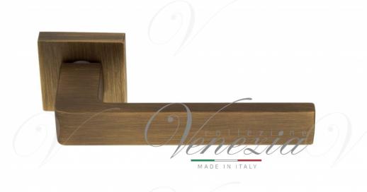 """Дверная ручка Venezia Unique """"BIBLO"""" матовая бронза"""