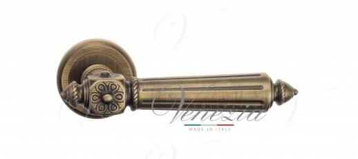 Дверная ручка Venezia Castello D1 матовая бронза