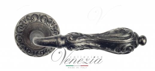Дверная ручка Venezia Monte Cristo D4 античное серебро