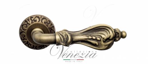 Дверная ручка Venezia Florence D4 матовая бронза