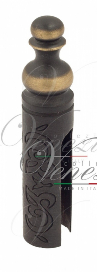 Колпачок для ввертных петель Venezia CP14 D с пешкой, рисунок D14 мм темная бронза