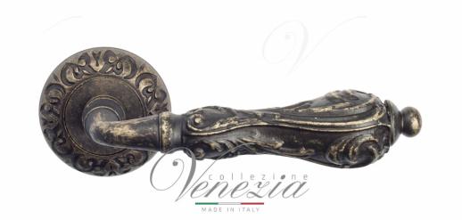 Дверная ручка Venezia Monte Cristo D4 античная бронза