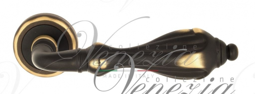"""Дверная ручка Venezia """"ANAFESTO"""" D1 темная бронза"""