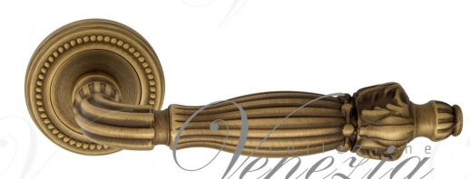 "Дверная ручка Venezia ""OLIMPO"" D3 матовая бронза"