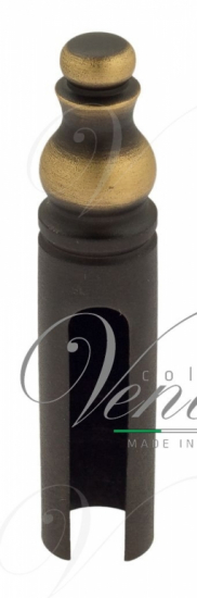 Колпачок для ввертных петель Venezia CP14 с пешкой D14 мм темная бронза