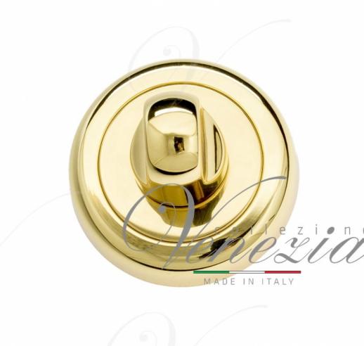 Фиксатор поворотный Venezia WC-1 D1 французское золото