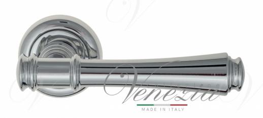 """Дверная ручка Venezia """"CALLISTO"""" D1 полированный хром"""