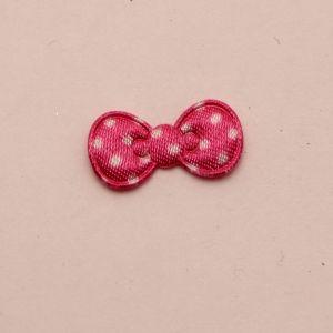 """Патч """"Бантик"""", 22*11 мм, цвет розовый (1уп = 25шт)"""