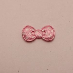 """Патч """"Бантик"""", 22*11 мм, цвет светло-розовый (1уп = 25шт)"""