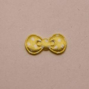 """`Патч """"Бантик"""", 22*11 мм, цвет желтый (1уп = 5шт)"""