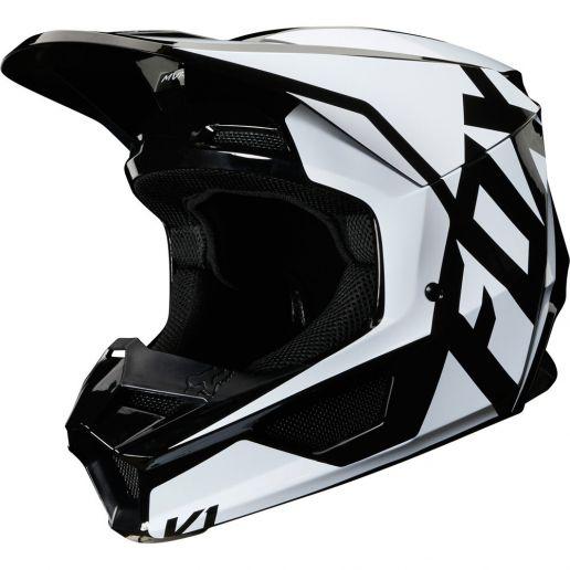 Fox - 2020 V1 Prix Black шлем, черный