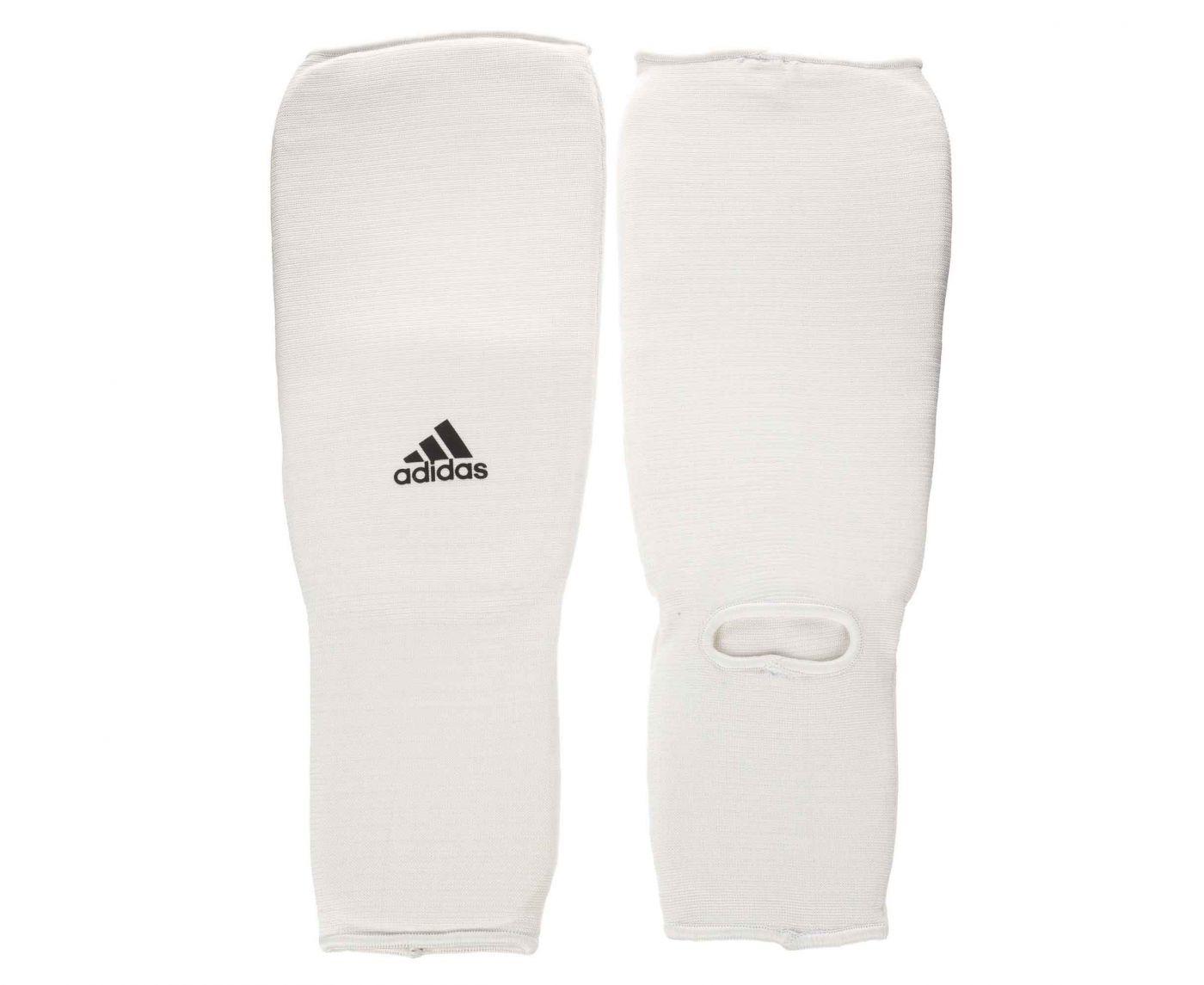 Защита голеностопа Adidas Shin and Step Pad белая, размер XS, артикул adiBP08