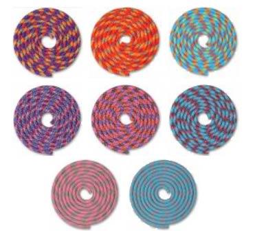 Скакалка утяжеленная для художественной гимнастики INDIGO SM-360 3м 180г