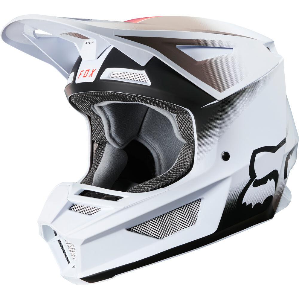 Fox - 2020 V2 Vlar White шлем, белый