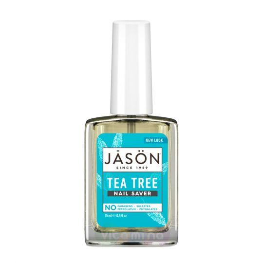 Jason Средство по уходу за ногтями с маслом чайного дерева Tea Tree Nail Saver, 15 мл