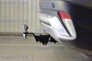 Фаркоп (тсу) PT-G, крюк под квадрат