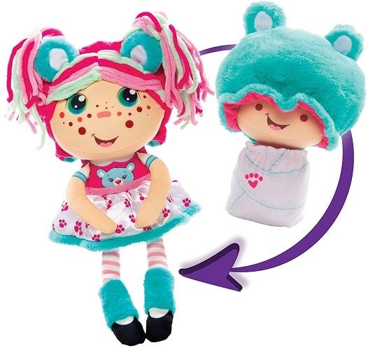 Куклы плюшевые Девчушки-Вывернушки  АКЦИЯ 1+1=3