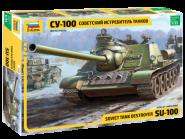 """Советский истребитель танков """"СУ-100"""""""