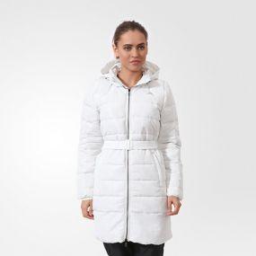 Женский пуховик adidas Timeless Down Coat белый