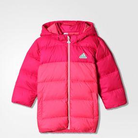 Детская куртка adidas I Smu Down Jacket розовая