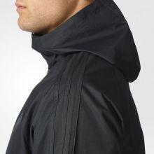 Ветровка adidas Tiro 17 Rain Jacket чёрная
