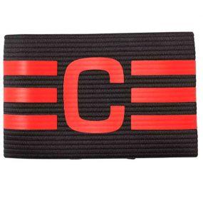 Капитанская повязка adidas чёрно-красная
