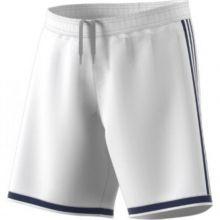 Игровые шорты adidas Regista 18 белые с тёмно-синим